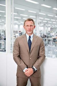 Daniel Craig at the OMEGA Factory