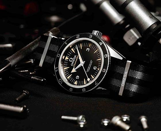 OMEGA Seamaster 300 Spectre LE - reclining