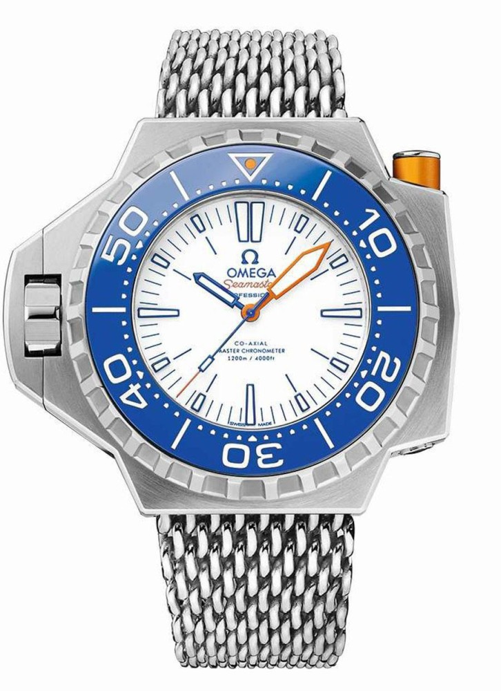 Omega Seamaster PloProf 1200M Electric Blue - Perpetuelle
