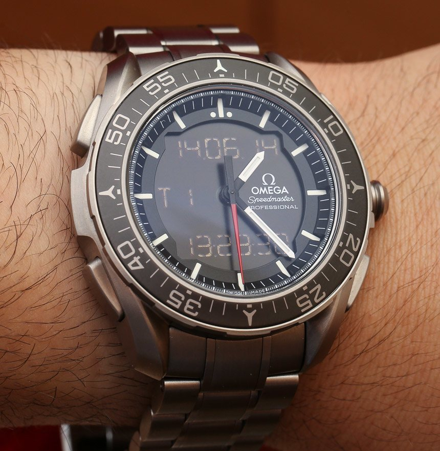 Omega Speedmaster X-33 Skywalker Watch Hands-On Hands-On